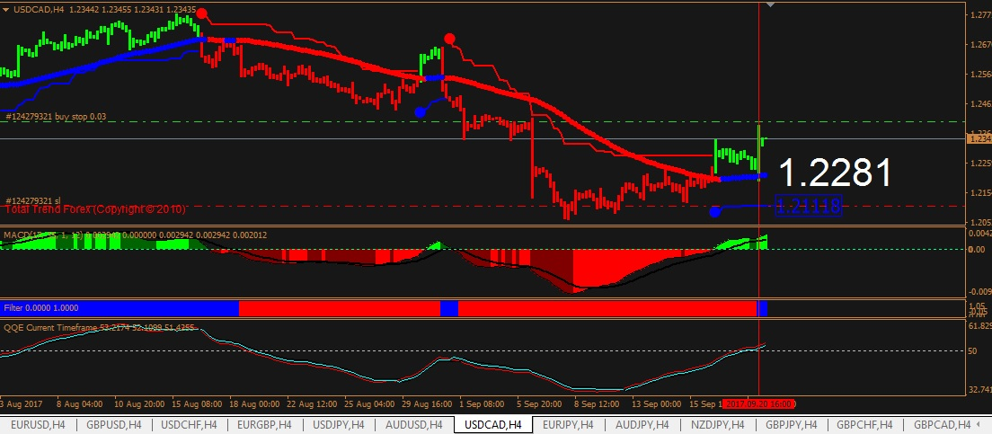 estrategia forex trend follower plus